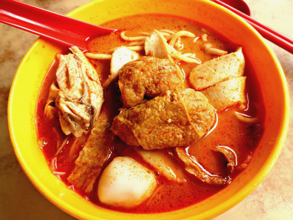 curry noodles in kuantan