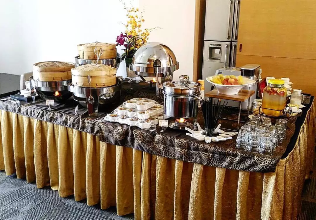 Halal catering service