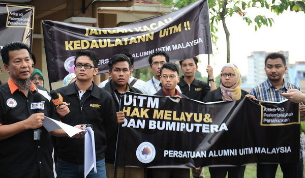 racism in malaysia