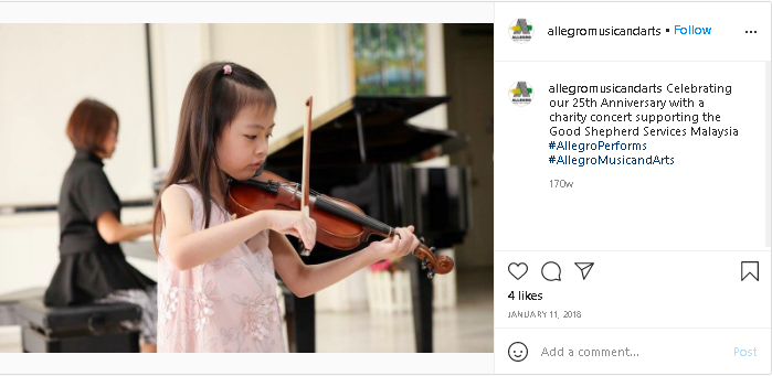 start early with Allegro music