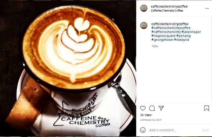 coffee blends cafe in Penang