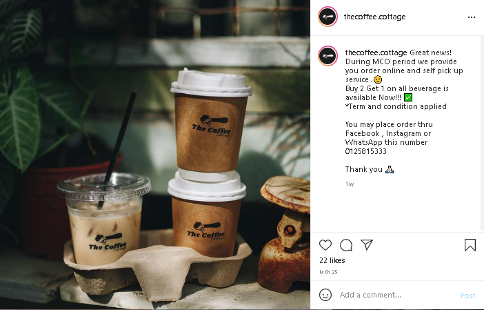 cafes in Penang that offer classic coffee mixes