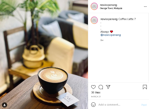 must-try cafes in Penang