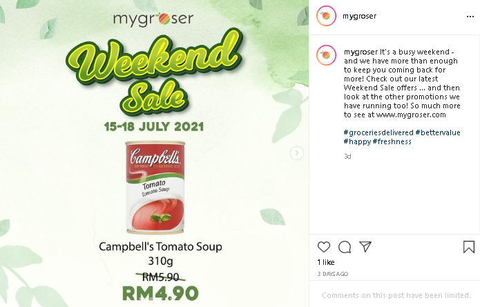 Malaysia online grocery